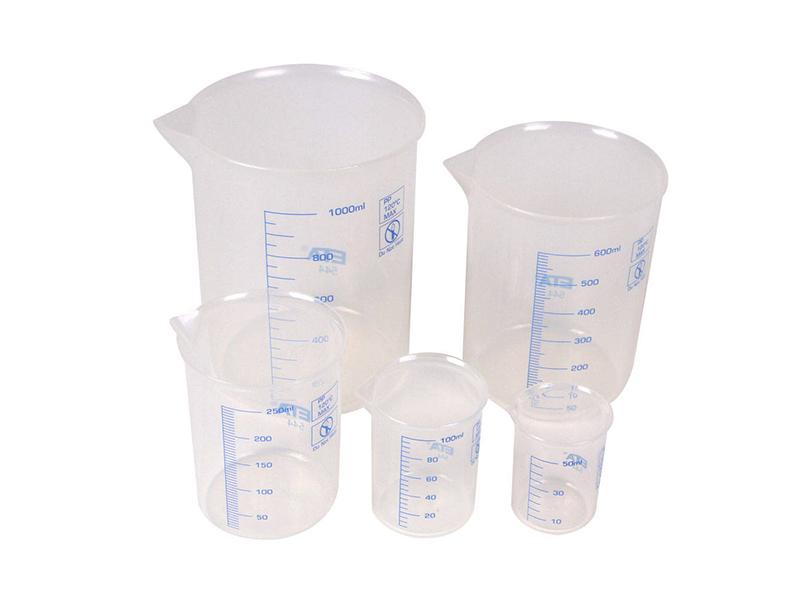 Пластиковая посуда для лаборатории