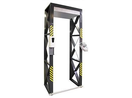 """""""Граница-Ultima"""" Автономная станция для бесконтактного мониторинга температуры со встроенным металлодетектором"""